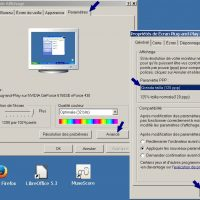 Windows XP reglage grande police sur le bureau