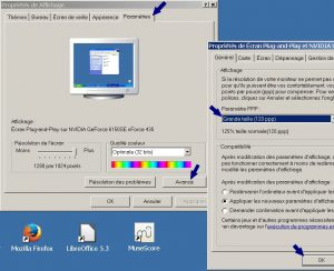 Reglage du bureau Windows XP