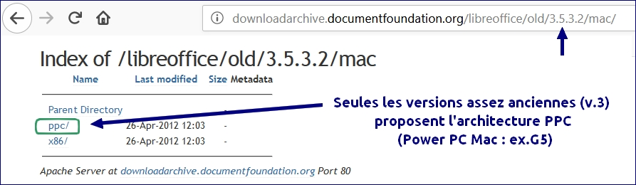 libreoffice ppc mac power pc